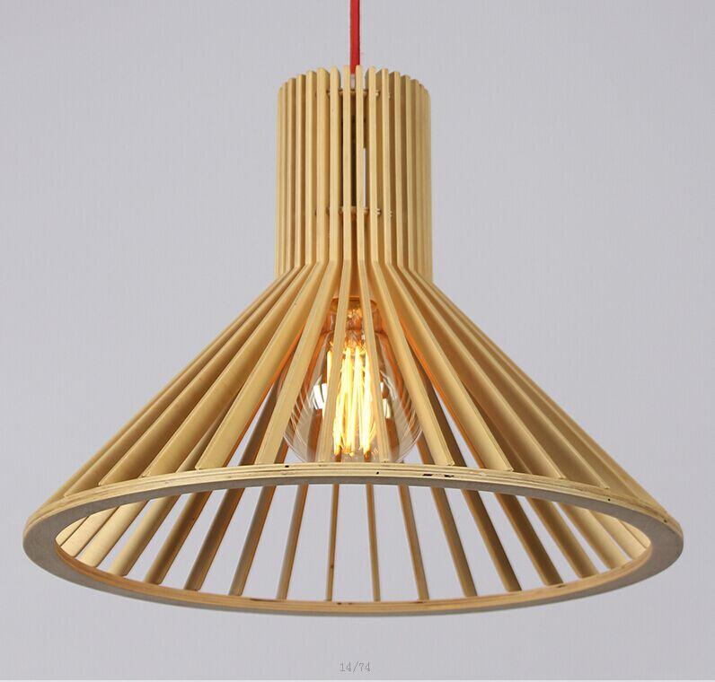 Cập nhật xu hướng sử dụng đèn thả trần bằng gỗ 2018