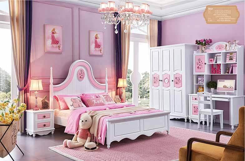5 Cách trang trí phòng ngủ cho bé màu hồng dễ thương