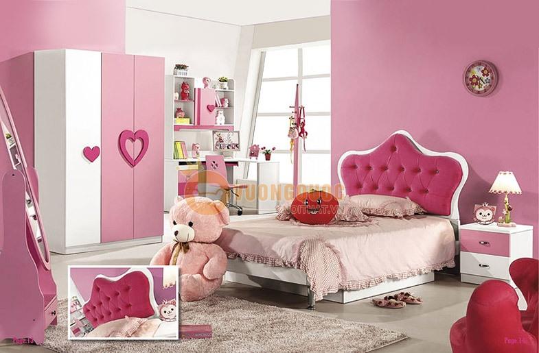 Lưu ý nhỏ khi trang trí phòng ngủ cho bé màu hồng