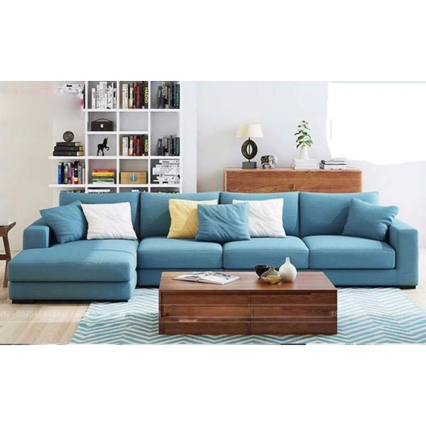 Mẫu sofa nỉ đẹp hiện đại