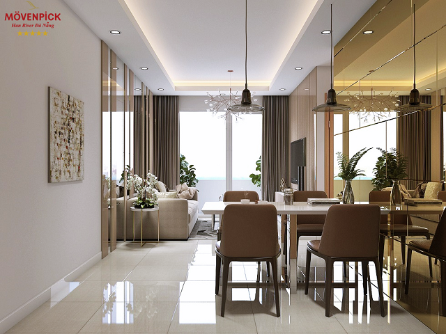 Dự án chung cư Movenpick mang kiến trúc linh động từ cổ điển đến hiện đại