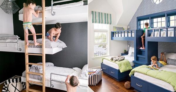 Một số lưu ý khi lựa chọn giường tầng cho bé