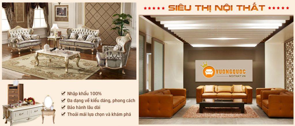 Sản phẩm sofa nhập khẩu 100%