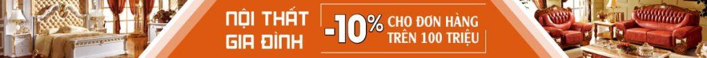 Sofa giá rẻ hơn thị trường từ 10-20%