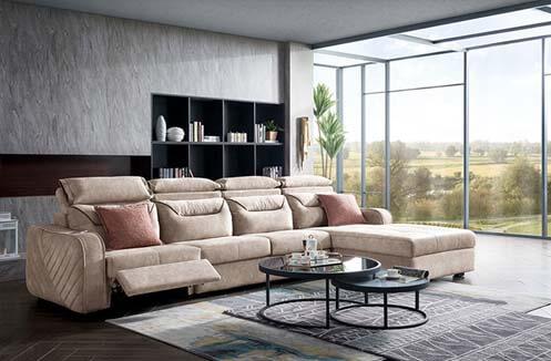 Bộ bàn ghế sofa chữ L phong cách Hàn Quốc