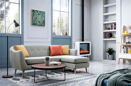 Sofa chữ l  phong cách hiện đại