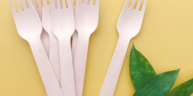 nĩa gỗ dùng 1 lần